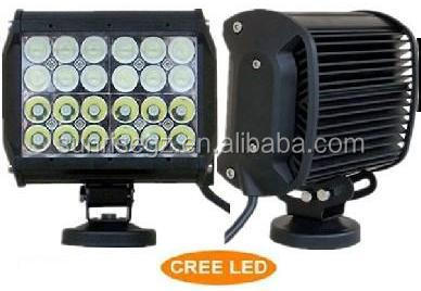 3W each LED,72W Quad Row CRE LED Work Light Bar,LED Mining Bar,for SUV JEEP Offroad Car(SR-QUC-72A,72W)Spot/Flood/Combo