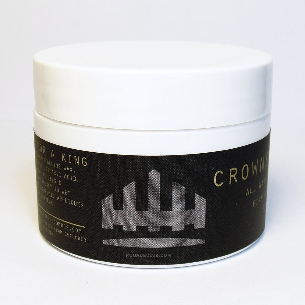 Crowne & Combes All Natural Black Wax 1oz
