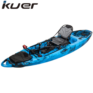 KUER Tarpon 10ft kayak fishing pedal with big lun picture and pedal with propeller