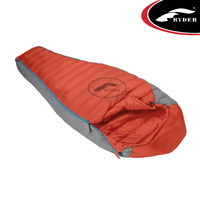 Purple Goose Feather Sleeping Bag for Outdoor Camping
