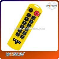 Telecrane Remote Control,bridge crane radio remote control