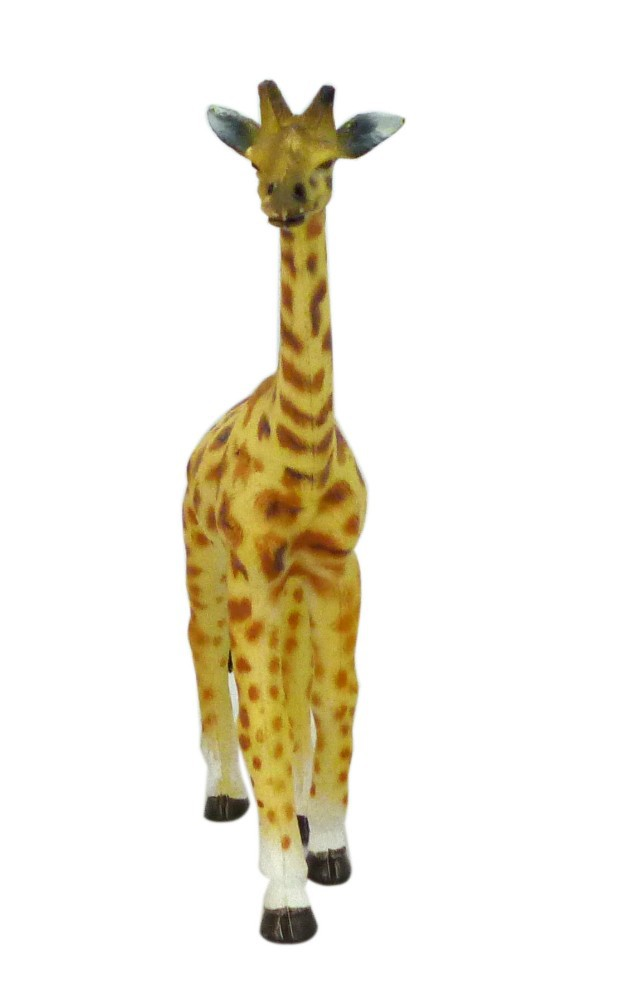 pvc plastic giraffe animal toy
