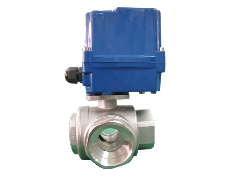 CTF Series proportional adjustable Electrical ball valve for factory liquid system