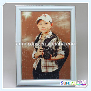 Hot Sale A4 & A5 Sublimation Puzzle Frame for Photo Printing