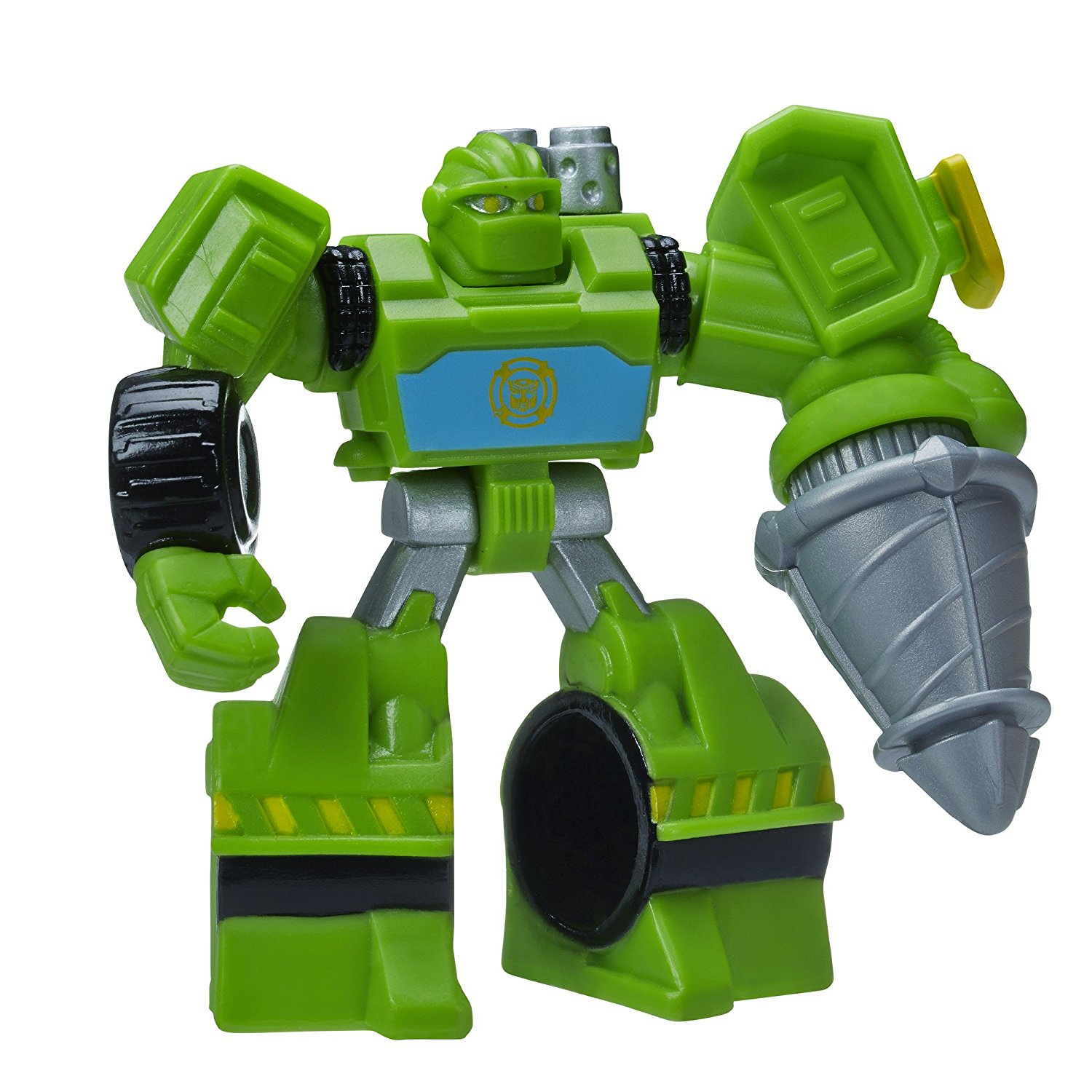 Playskool Heroes, Transformers Rescue Bots, Boulder The Construction-Bot Figure, 3.5 Inches