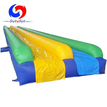 20m*2.8m commercial giants inflatable water slide for adult kids, 1000 ft slip n slide inflatable slide the city