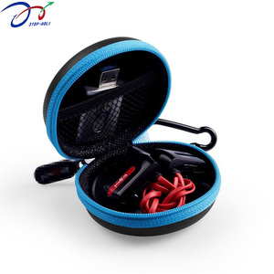 EVA Carrying Case for Earphone Portable and Convenient USB Cable Headphone carrying Case for Travel