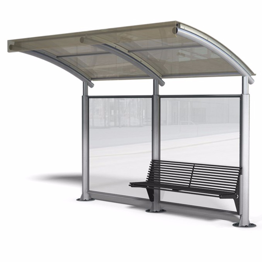 product-Advertising equipment bus shelter for sale metal bus shelter-YEROO-img-4