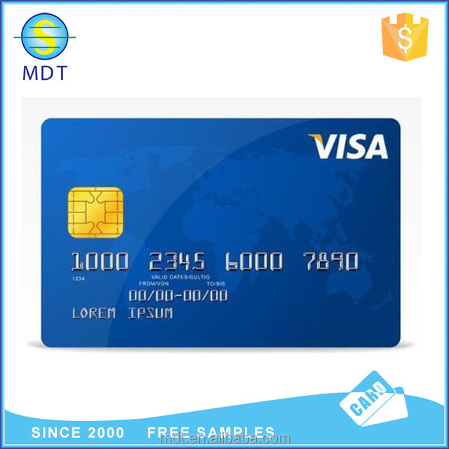 Wholesale Alibaba Embossed Number Blank Visa Credit Card Size With Chip -  Buy Blank Visa Credit Card Size,Blank Visa Credit Card Size With