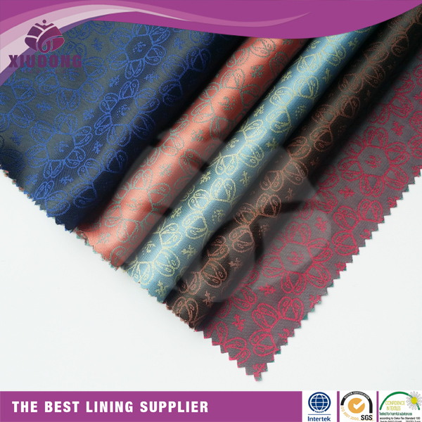 polyester viscose based premium lining material quality used for luxury designer leather