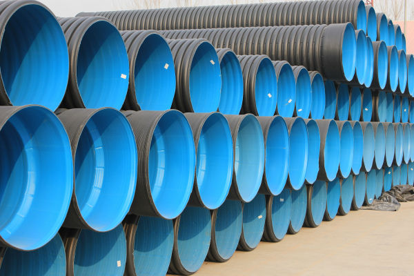 HDPE Slotted /corrugated drainage pipe used in agriculture