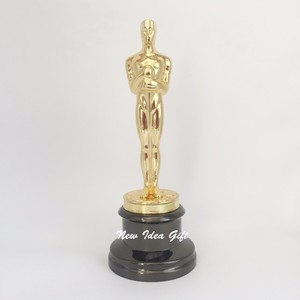Perpetual Gold Plated Metal Zinc Real Oscar 1:1 replica Trophy Awards