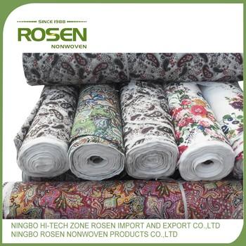 RS NONWOVEN Customized Polyester Industrial Carpet Roll For Felt Speaker Box