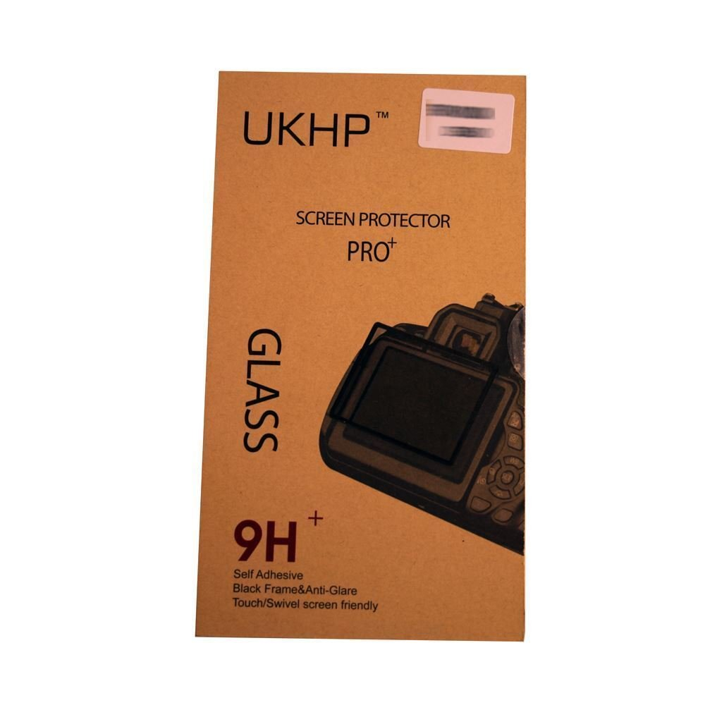 UKHP 0.3mm 9H Self-Adhesive Optical Glass LCD Screen Protector for 5D MK3 5Dsr 5Ds