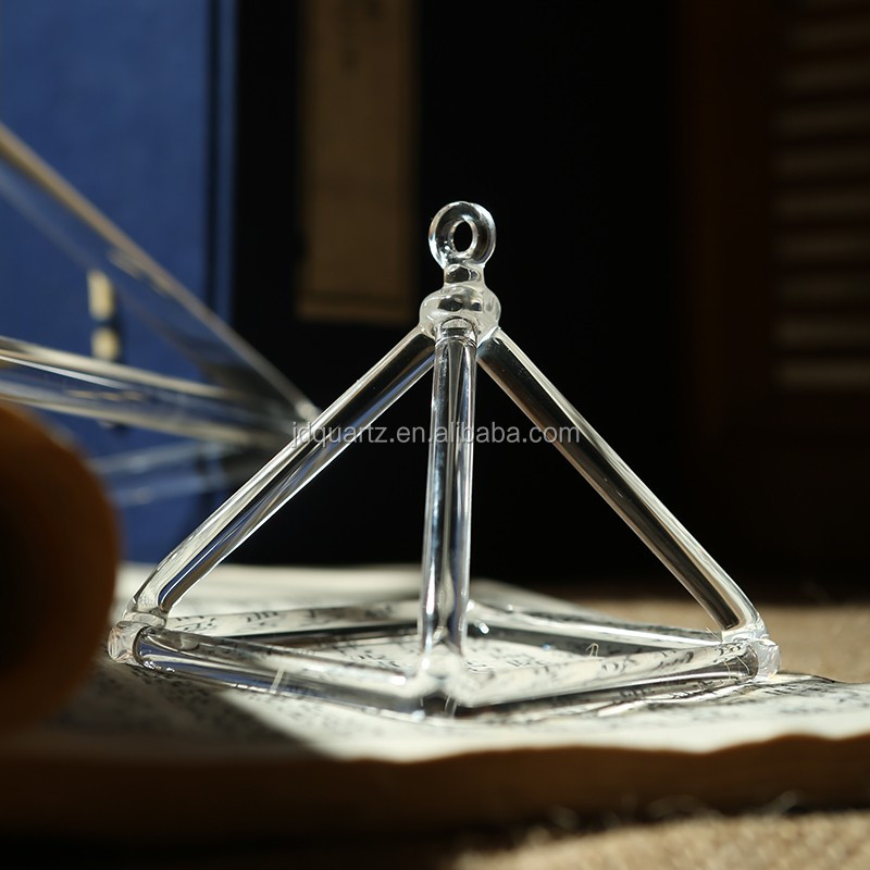 JD Wholesale Healing Quartz Crystal Pyramid