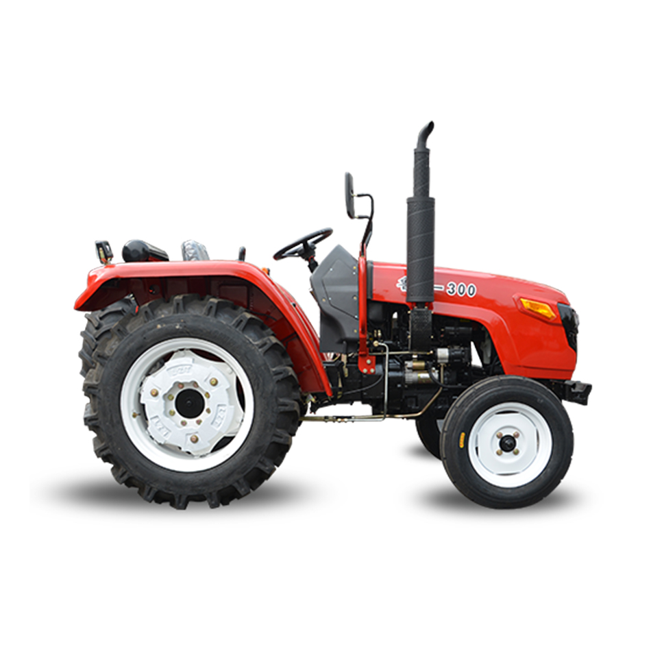 paddy field farm machine luzhong 350 professional tractor