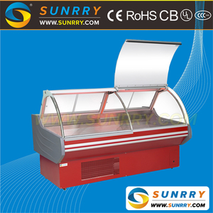 New Style Supermarket Refrigeration Equipment Open Display Refrigerator and Deli Cooler Showcase