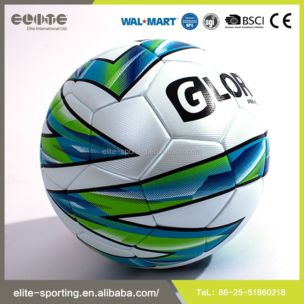 2016 Newest Thermal Bonded PU Soccer Ball