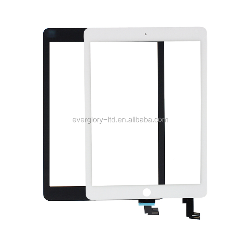 5pcs/lot repair parts for ipad touch screen computer tablet touch screen for ipad Air 2