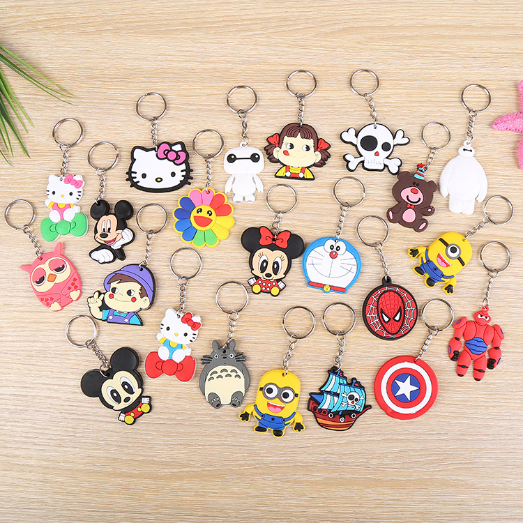 Wholesale Creative Lovely PVC Cartoon Phone Pendants  Promotion Gift