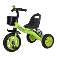 Ride On Toy Style and Plastic and Steel Material tricycle baby
