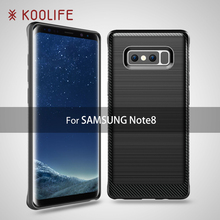 Kingkong New products Shock proof 360 degrees Protective Silicon Cover for galaxy note8 phone Case for Samsung galaxy note 8