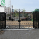 wrought iron entry gates main gate design