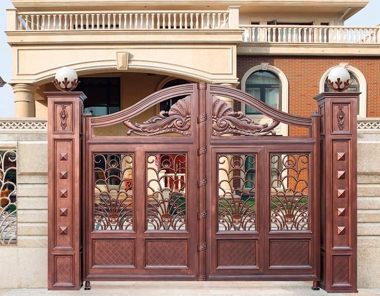 aluminio fundido puertas para la casa diseos puerta principal