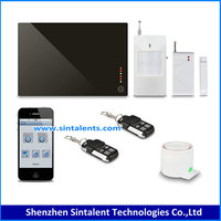 Wireless smart home automation gsm security alarm system
