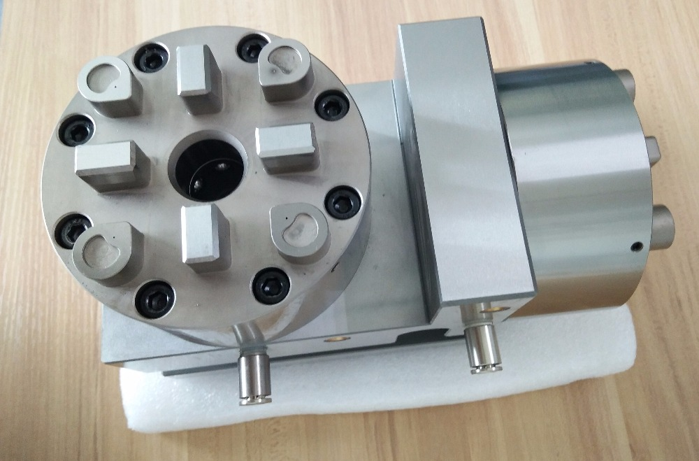 Horizontal precision block for Pneumatic or atomatic chuck compatible with system 3R
