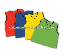 custom soccer football training vest bibs