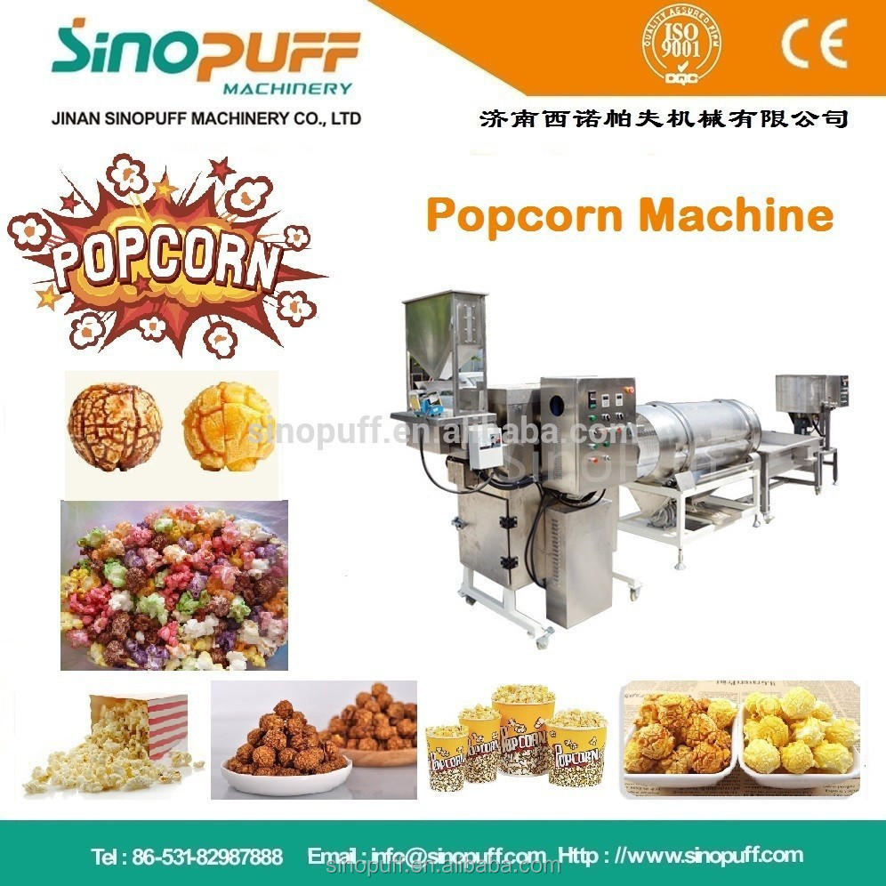 "hot Air Tech"" Industrial Popcorn Making Machine/ Flavored Popcorn ..."