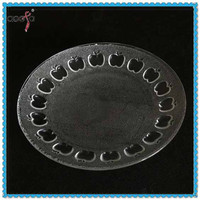 High Quality Dishes for Sale 7 inch Glass Plate