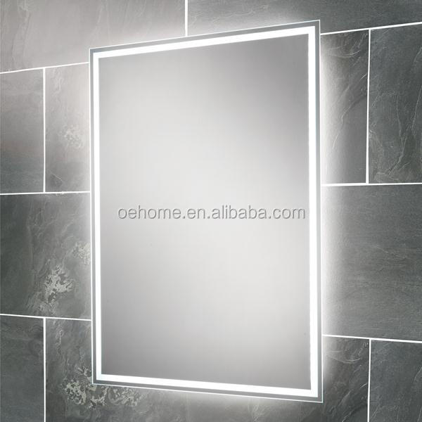 Rectangle Mirror Shape And Illuminated Feature Lighted Infinity ...