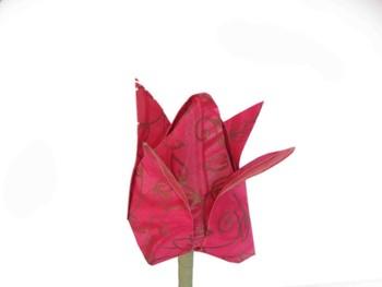 Origami paper tulip flower buy paper flowers sale product on origami paper tulip flower mightylinksfo
