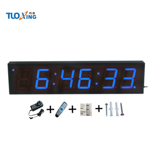 4 inch 6 digit large wall mounted timer countdown timer