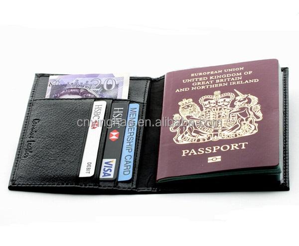 Paspoort Portemonnee.Hoge Kwaliteit Lederen Portemonnee Nuttig En Visum Paspoort Deksel