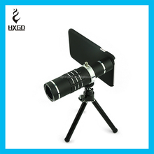 HXGD Aluminum alloy Metal and HD Optical glass telescope lens 18x zoom mobile camera lens suit smart phone