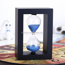Home Decor Hourglasses 5 Minutes Wooden Sand Timer Factory