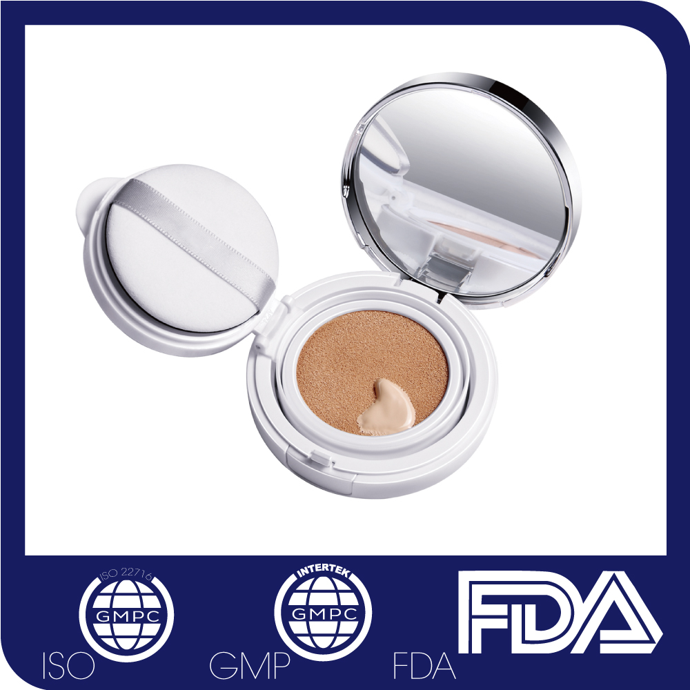 Best Cosmetics Face Glitter Foundation Pressed Powder Waterproof Concealer Makeup BB/CC Cream for Dry Skin