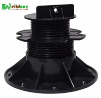 adjustable plastic raised floor pedestal
