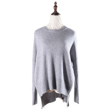 Mongolian หรูหราขายส่ง Erdos ผู้หญิง 100% <span class=keywords><strong>Cashmere</strong></span> Sweater