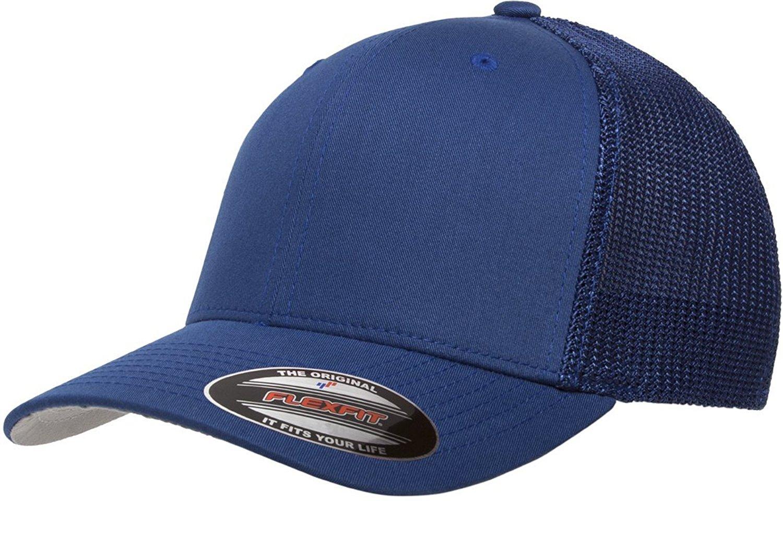 Get Quotations · 6511 Flexfit Trucker Mesh Cap w  THP No Sweat Headliner  Bundle Pack 63d9b35691e1