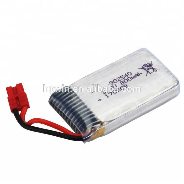 3.7v lipo battery 902540 700mah rc helicopter battery for syma X5HC X5HW drone