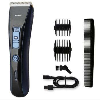 Aesfee AF-800 air Clipper Cordless, Mens Hair Clippers Set Rechargeable Clippers Hair Trimmer Beard Shaver Electric Haircut Kit