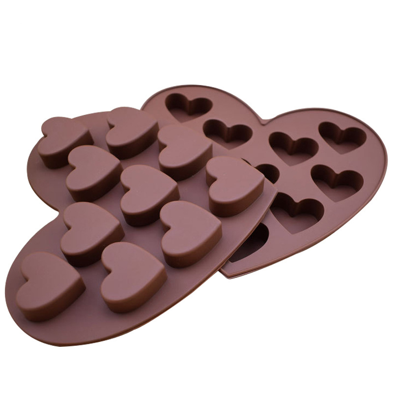 Wholesale Valentine S Day Heart Shape Diy Silicone 3d Chocolate Mold Buy Chocolate Mould 3d Chocolate Mold Diy Chocolate Mold Product On Alibaba Com
