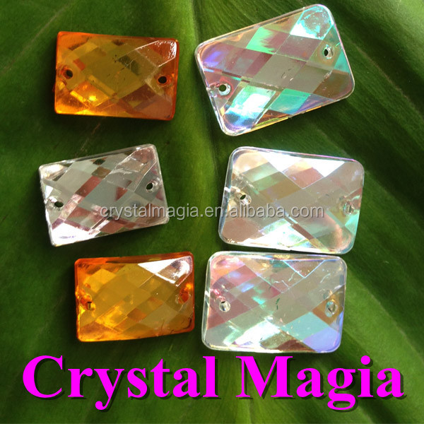 cheap china acrylic stones rhinestones factory flat back resin sewing strass