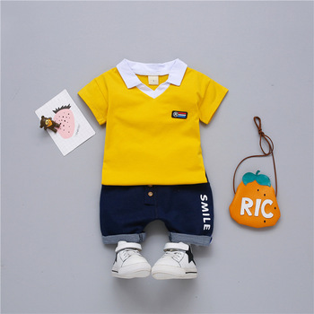 Bulk Wholesale Kids Short Sleeve Summer Wear Clothing Sets Cheap Clothes Online