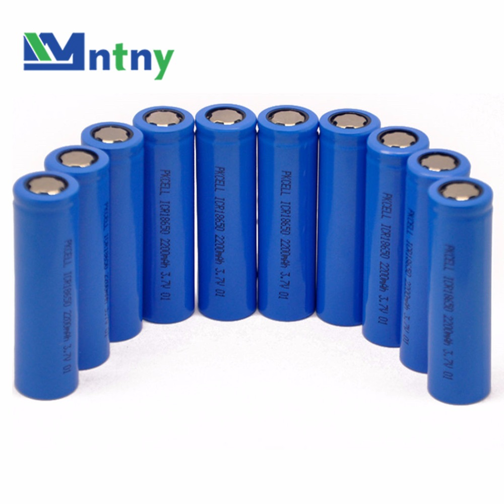 CNNTNY Lithium 3.7v 18650 2200mah Rechargeable Li-ion <strong>Battery</strong> for Led flashlight Torch cell Flashlight <strong>battery</strong>