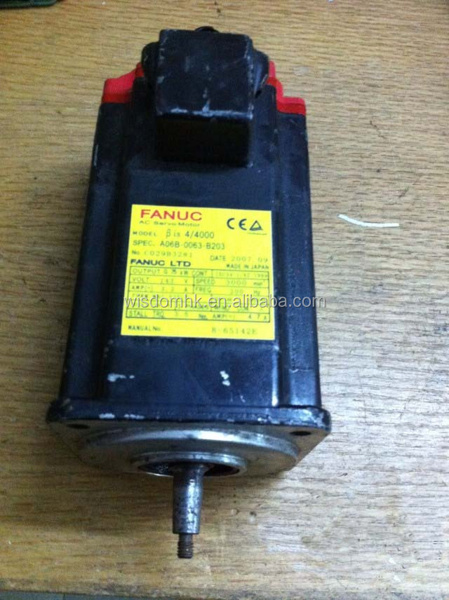 original A06B-0063-B203 100% tested ok and FANUC servo motor
